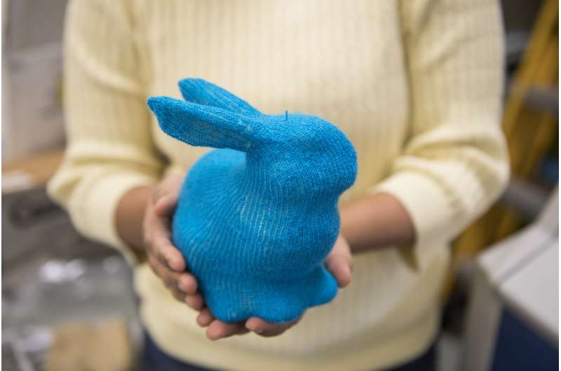 Software automatically generates knitting instructions for 3-D shapes