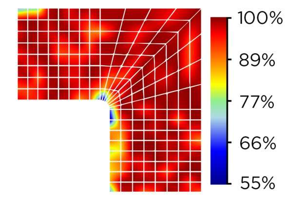 Study: Material gradients could strengthen polymer components