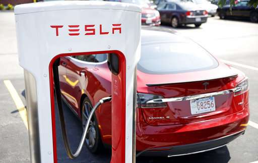 Tesla shares slip after company decides to stay public