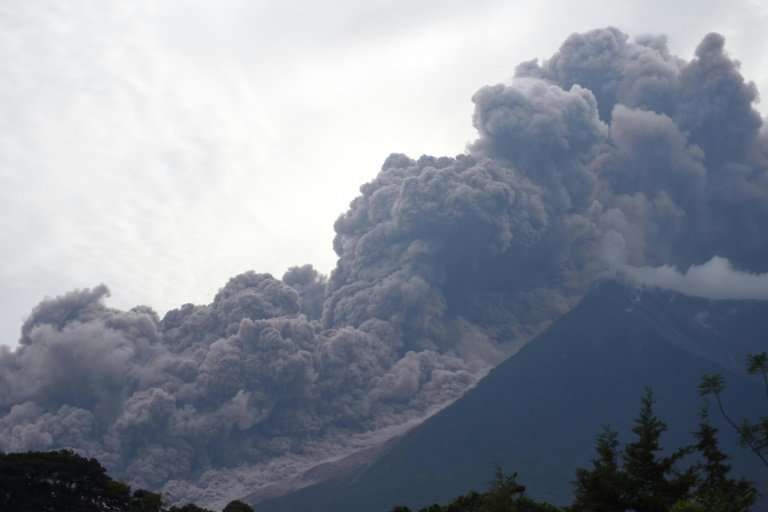 The eruption of Guatemala's Fuego volcano has killed at least 25 people