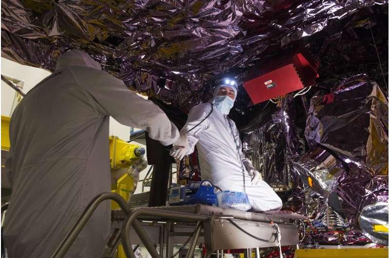 Time saving tooling rods used on NASA's Webb Telescope sunshield