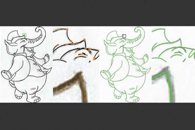 Tool improves automated image vectorization, saving digital artists time and effort