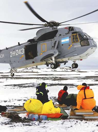 US scientists rescued in Antarctica by Argentina icebreaker