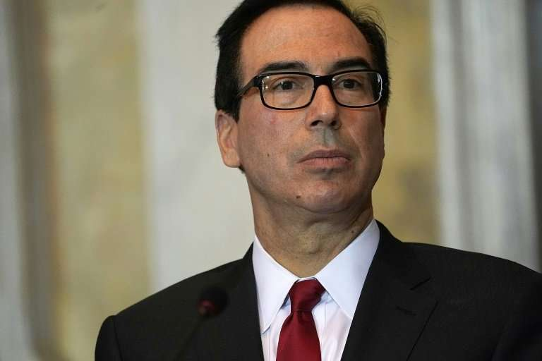 US Secretary of the Treasury Steven Mnuchin has refrained from escalating a fight over China's currency