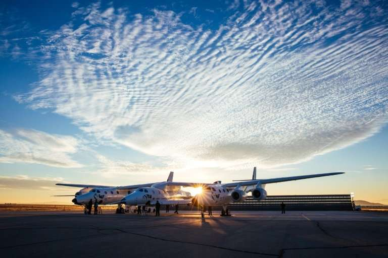 Virgin Galactic's VSS Unity will be attached to a carrier spacecraft, from which it will then detach at around 49,000 feet (15,0
