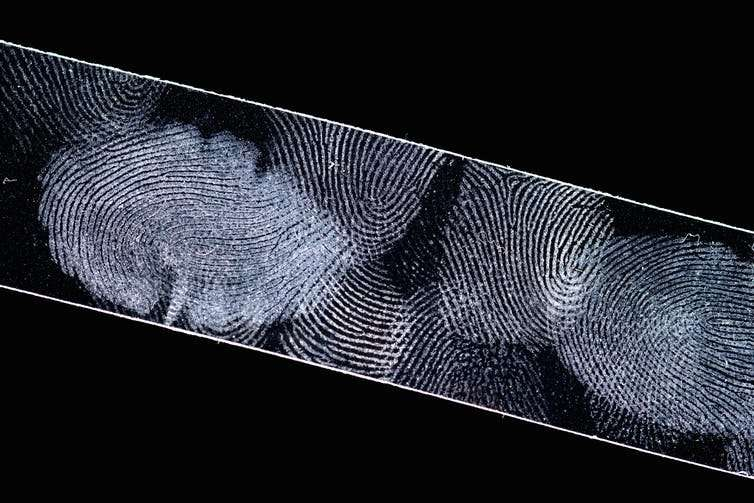We've discovered a way to recover DNA from fingerprints without destroying them