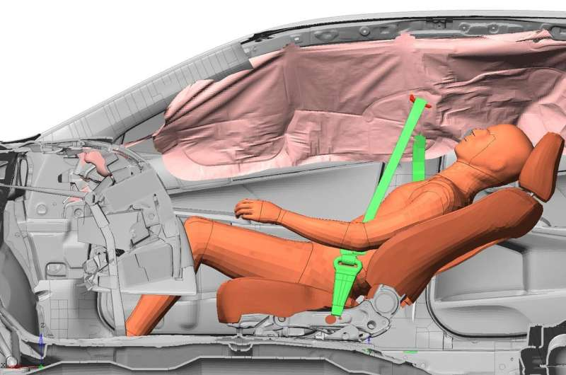 Why do women and obese passengers suffer the worst car-crash injuries?