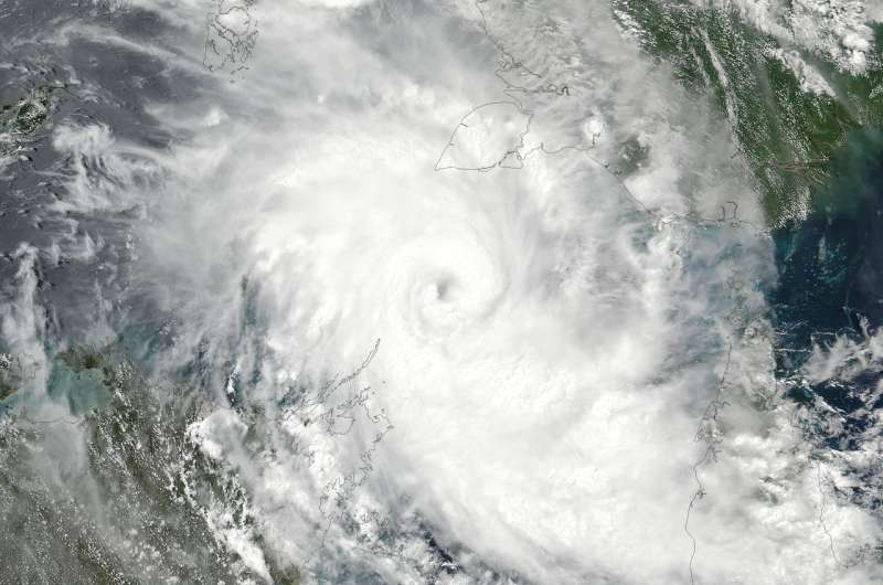 NASA sees Tropical Cyclone Nora become a hurricane