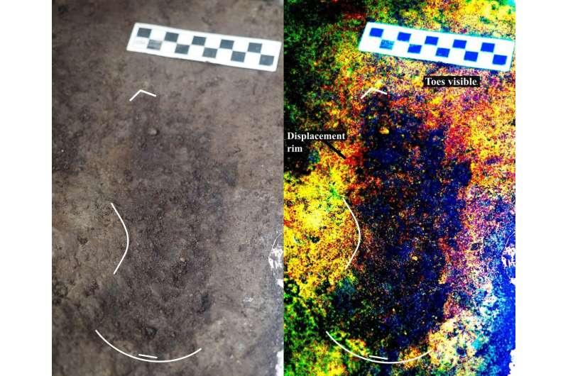 13,000-year old human footprints found off Canada's Pacific coast