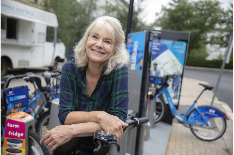 Researcher discusses bike-sharing programs