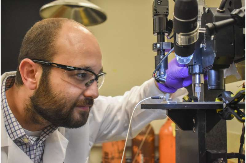 WSU researchers create 3D-printed glucose biosensors