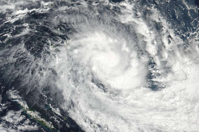 NASA sees Tropical Cyclone Keni develop in the South Pacific