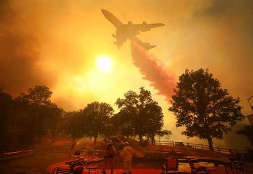 Deadly California blaze spawned destructive fire tornado