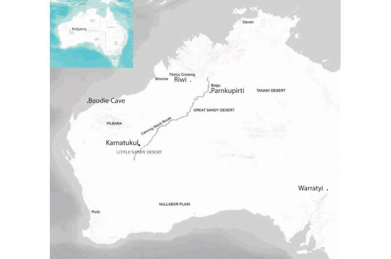 Aboriginal people lived in Australia's desert interior 50,000 years ago, earlier than first thought