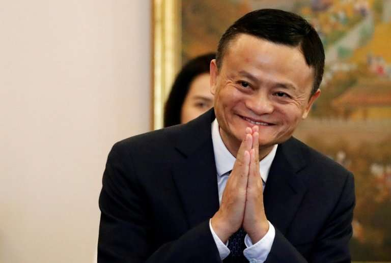 Alibaba founder Jack Ma is venerated in China thanks to his remarkable rags to riches rise