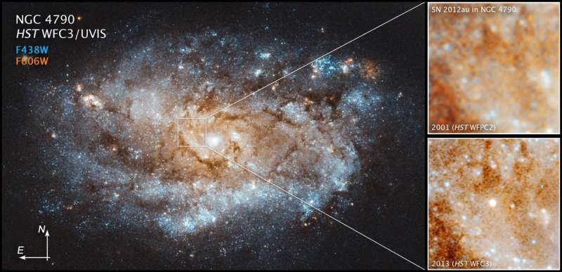 Astronomers witness birth of new star from stellar explosion