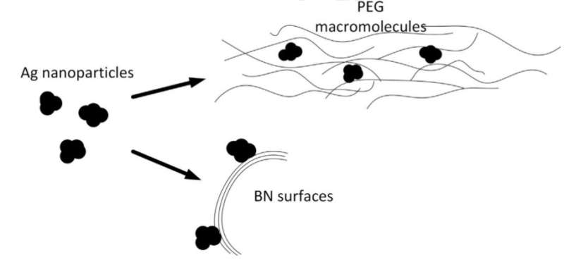Boron nitride and silver nanoparticles to help get rid of carbon monoxide emissions