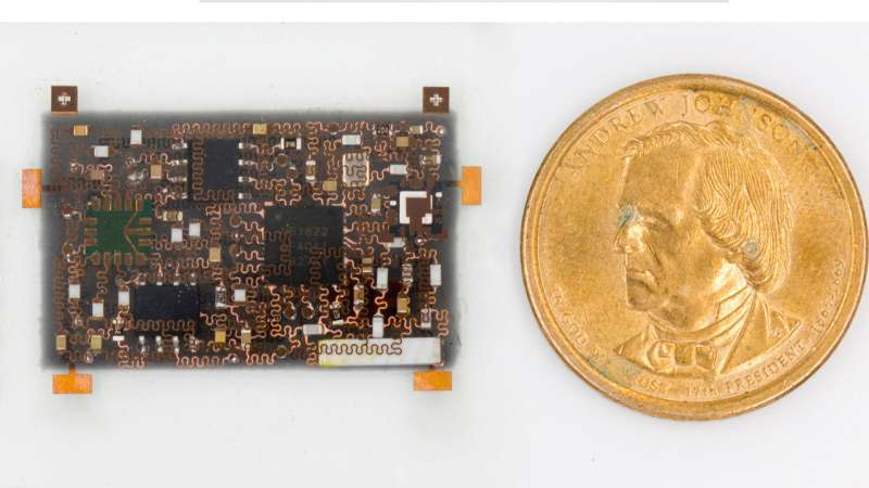 'Building up' stretchable electronics to be as multipurpose as your smartphone