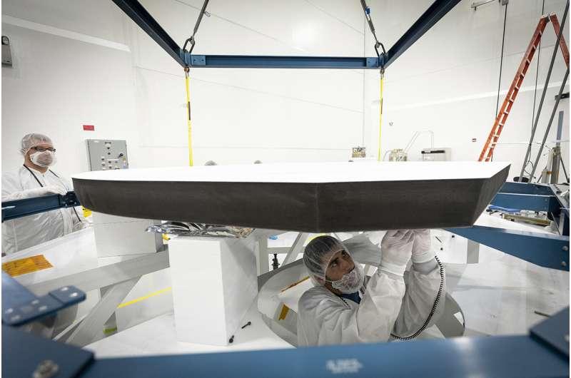 Cutting-edge heat shield installed on NASA's Parker Solar Probe