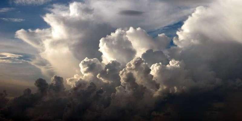 Higher temperature, heavier rain