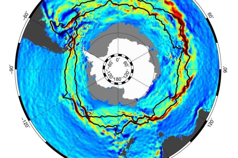 How the Antarctic Circumpolar Current helps keep Antarctica frozen