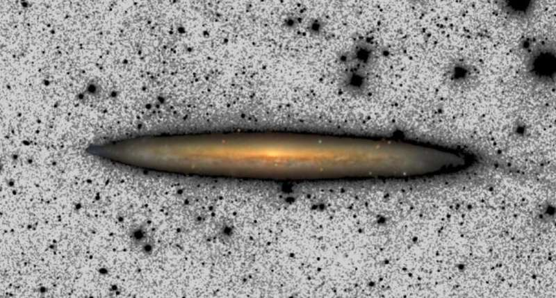 Is the Milky Way getting bigger?