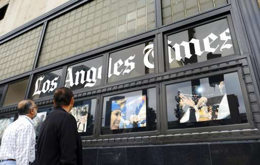 Los Angeles Times sold to local billionaire for $500 million (Update)