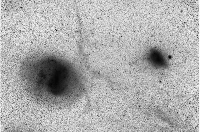 Magellanic Clouds duo may have been a trio