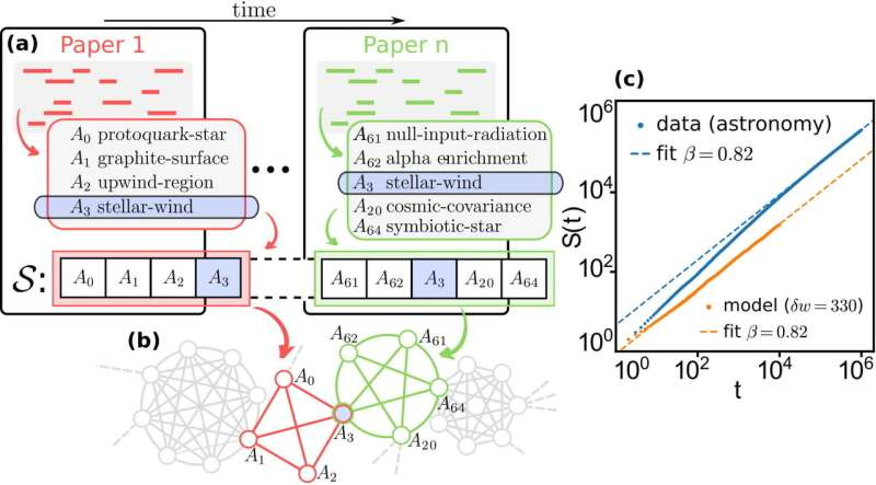 Mathematicians develop model for how new ideas emerge