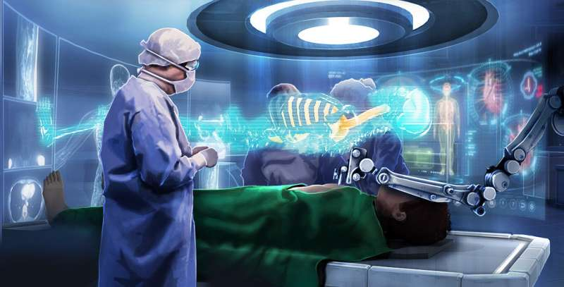 More accurate biopsy by augmented reality