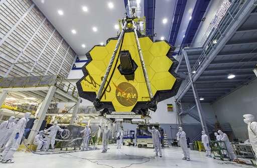 NASA delays next-generation space telescope until 2020