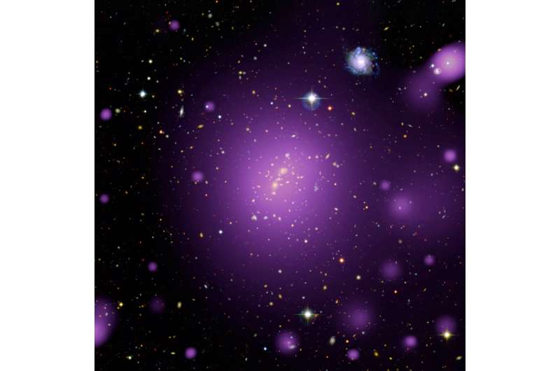 Observations challenge cosmological theories
