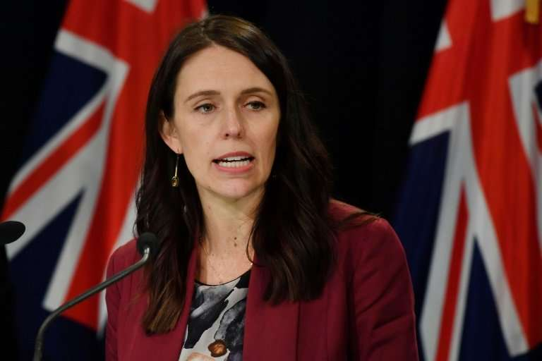 """Prime Minister Jacinda Ardern said New Zealand uses """"hundreds of millions"""" of single-use plastic bags each year, many"""