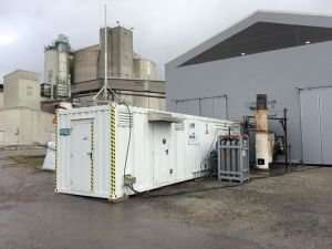 Production of Renewable Gas from Waste Wood