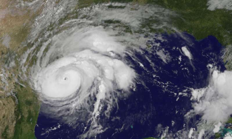 Record-breaking ocean heat fueled Hurricane Harvey