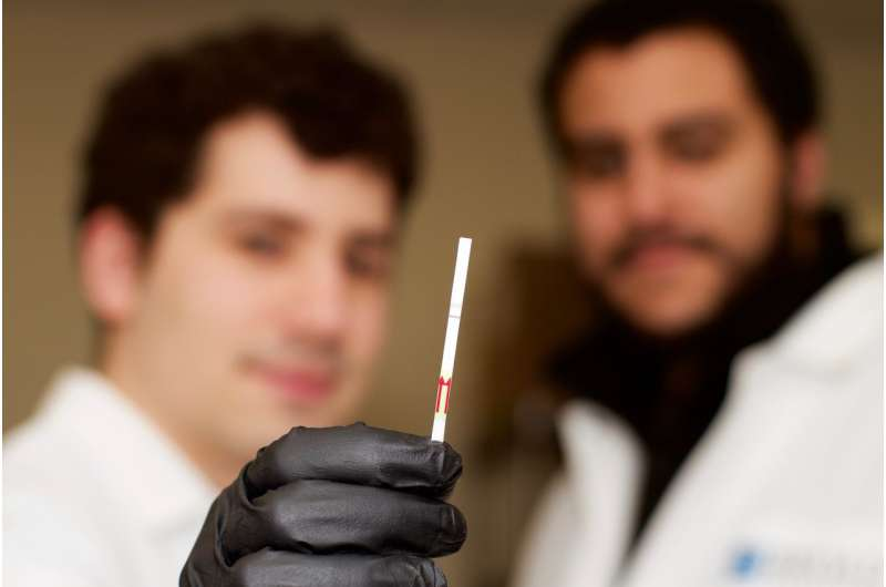 Researchers advance CRISPR-based diagnostic tool, develop miniature paper test