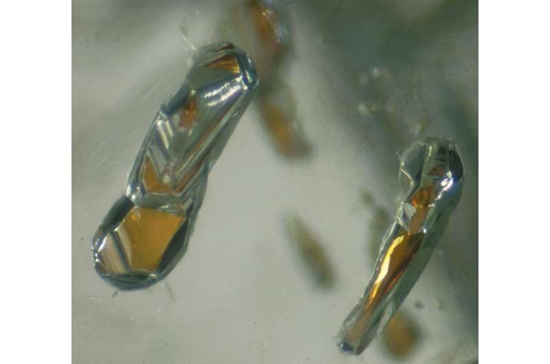 Scientists find oxidized iron deep within the Earth's interior