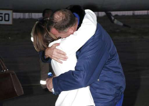 US astronaut thanks Russian rescuers for their quick work