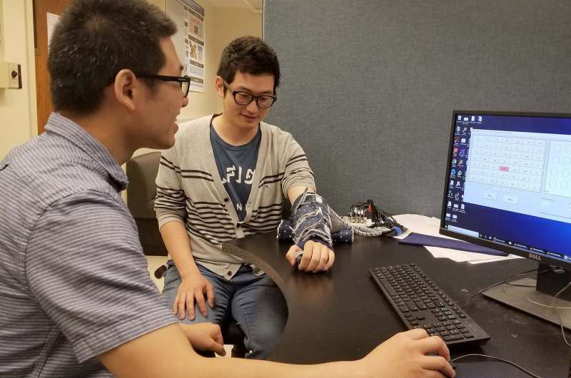 Researchers report haptic interface for mobile technology