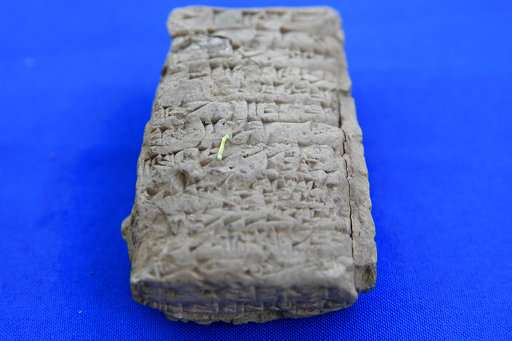 Ancient artifacts seized from Hobby Lobby returned to Iraq