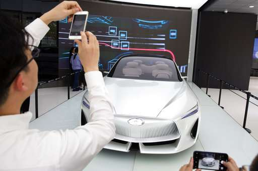 China auto show highlights industry's electric ambitions