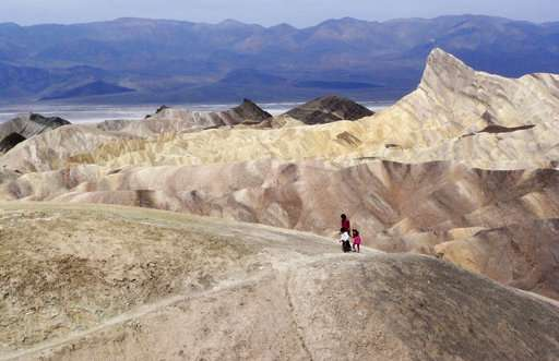 Death Valley sets tentative world record for hottest month