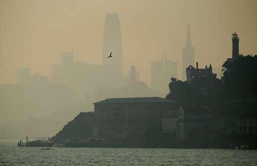Ferocious fires spark concern over major health consequences