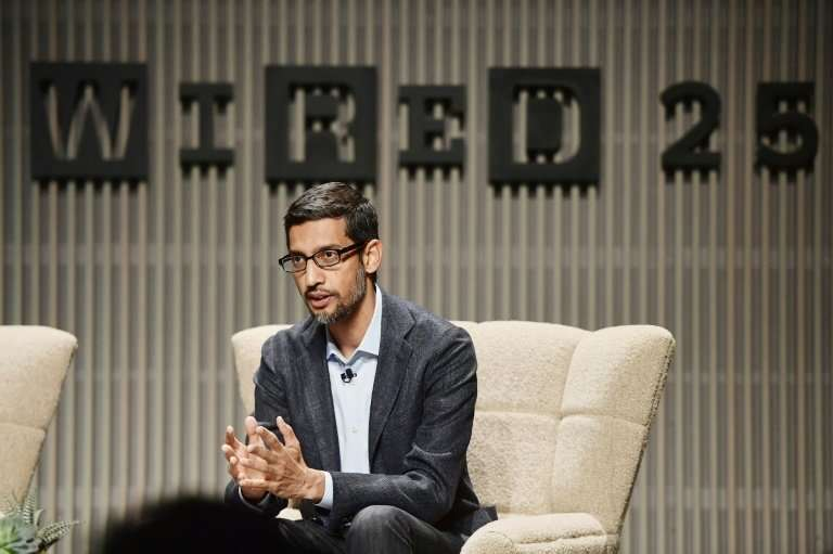 Google CEO Sundar Pichai addressed questions about China and the company's work with the US military at the Wired 25th anniversa