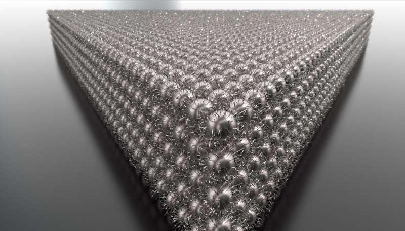 Nanocrystals arrange to improve electronics