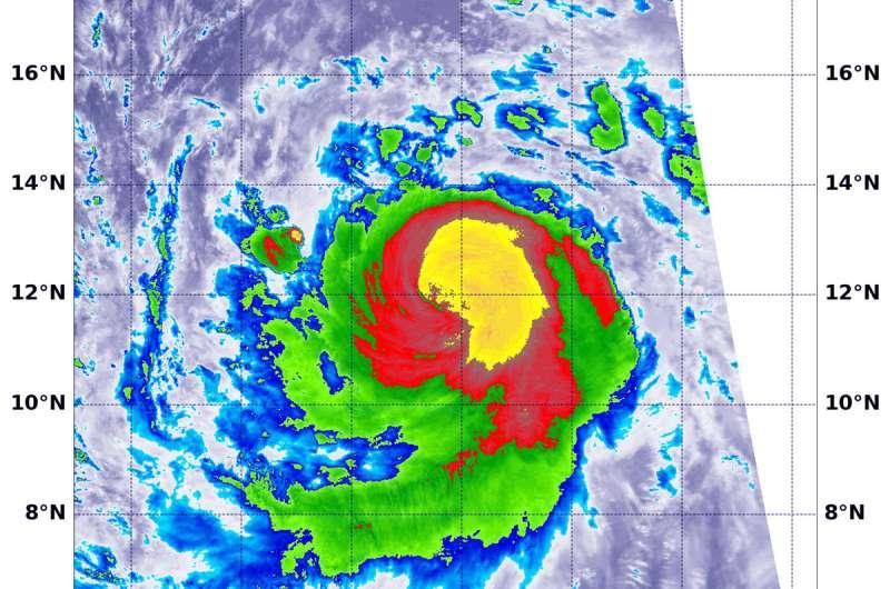 NASA sees powerful storms circling major Hurricane Sergio's eye