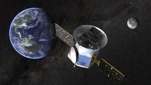 NASA Tess spacecraft to prowl for planets as galactic scout