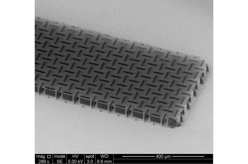 Penn engineers develop ultrathin, ultralight 'nanocardboard'