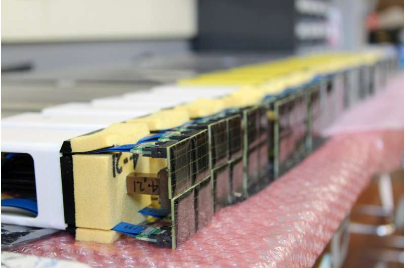 Prototype camera set for integration into novel gamma-ray telescope