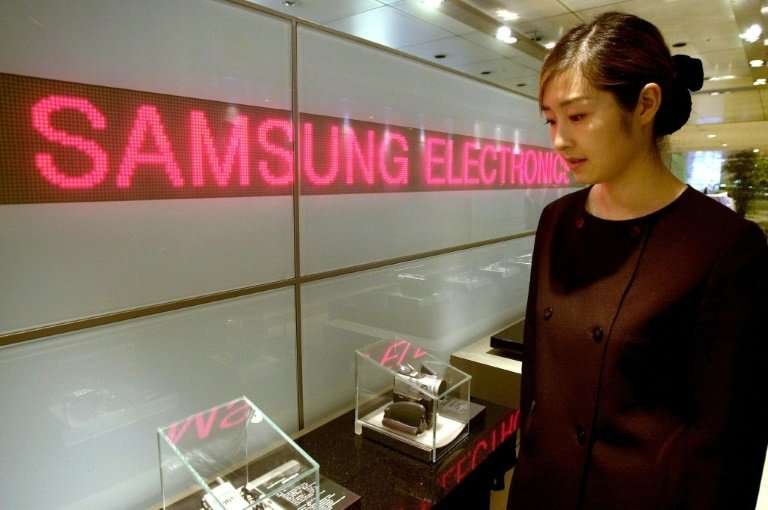 Samsung Electronics flagged a first-quarter operating profit of 15.6 trillion won ($14.7 billion), a record for any-three month